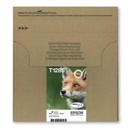 Genuine Epson T1285 Fox Multipack DuraBrite Ultra Ink Cartridges, C13T12854510