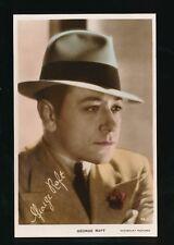 Film Theatre GEORGE RAFT c1930/40s? RP PPC Paramount Pictures