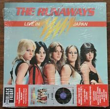 Runaways - Live In Japan LP [Vinyl New] Limited Collector's Ed Gate Album RSD BF
