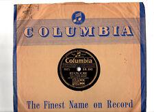 78 RPM.RUBY MURRAY.HE'S A PAL OF MINE / HEARTBEAT.UK ORIG & CO/SL