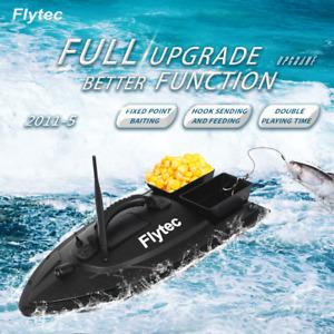 Flytec 2011-5 Fishing Bait Boat 500m 5.4km/h Remote Control RC Fish Finder 1.5kg