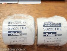 FUEL FILTER RACOR GAS 62 S3220TUL PAIR FILTERS MERCRUISER I/O INBOARD 10 MICRON