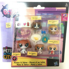 Hasbro Littlest Pet Shop Mommy & Babies BEAGLE Dog animal Figure Cute Toy Doll