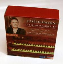 CHRISTINE SCHORNSHEIM piano sonatas, complete recordings CAPRICCIO 14xCDs NM