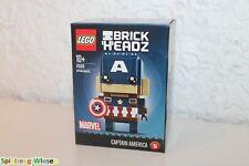 LEGO ® brickheadz 41589 capitaine america nouveau neuf dans sa boîte /_ NEW En parfait état dans sa boîte scellée Boîte d/'origine jamais ouverte