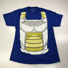 Dragonball Z T-Shirt Short Sleeve Blue Graphic Mens L Funimation #298