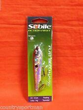 """SEBILE Flat Belly Walker 3 1/2"""" (1/2oz) #1348300-SSH-Silver Shad"""