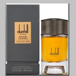 Dunhill London Sig Collec MOROCCAN AMBER 3.4 oz Eau de Parfum Spray NEW, SEALED