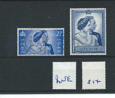 wbc. - GB - GEORGE V1 - G814- 1948 - SILVER WEDDING - SET - FINE USED