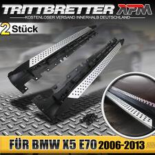 Aluminium Trittbretter Schweller für BMW X5 E70 2006-2013 inkl. Anbaumaterial