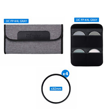 4 Slots Camera Lens Filter Case Pouch for UV CPL ND Filter Storage Up to 82mm