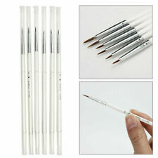 6Pcs Fine Detail Paint Brush Set Miniature Brushes Watercolor Acrylic Oil Models