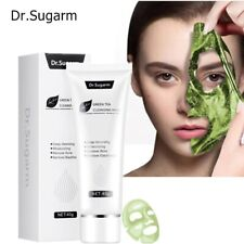 40g Dr.Sugarm Green Tea Blackhead Face Mask Skin Care Remove Acne Deep Cleansing