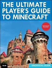 The Ultimate Player's Guide to Minecraft by O'Brien, Stephen, Good Book