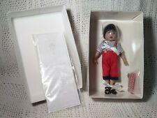 """New ListingKish 8"""" Vinyl Doll Kit Pirate Baby New in Box with Coa"""