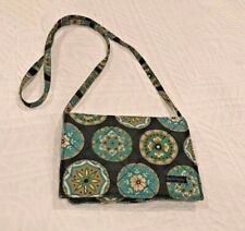 BELLA TAYLOR Small Cotton Quilted Crossbody Shoulder Bag Purse