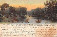 1906 Bronx River Bronx NY post card