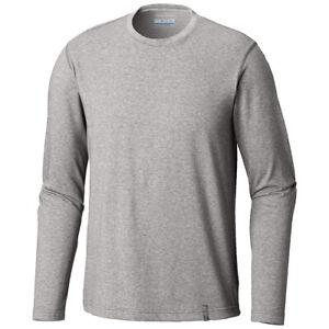 "New Mens Columbia ""Thistletown Park"" Omni-Wick Long Sleeve Crew Neck Shirt Tee"
