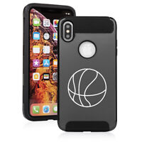 For Apple iPhone X XS MAX XR Shockproof Hard Soft Case Cover Basketball