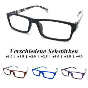 3x PariDeno Kunststoff Lesebrillen Lesebrille Brille Lesehilfe Sehhilfe Dioptrie
