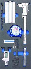 BGS 4031 - 1/3 Einlage Messwerkzeugsatz 7-tlg.