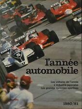 L'année automobile n°28 1980-1981