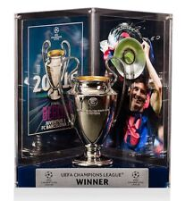 LIONEL MESSI Signed Barcelona UEFA 2015 Replica Trophy Display ICONS