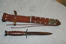 Vietnam ERA M3 Knife And Scabbard