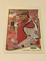 2014 Topps Opening Day Baseball Base #122 - Yadier Molina - St. Louis Cardinals
