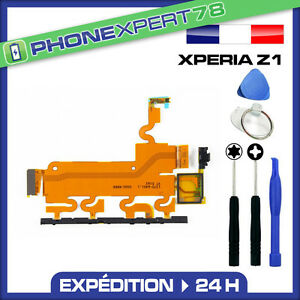 NAPPE POWER ON OFF + VOLUME + MICRO POUR SONY XPERIA Z1