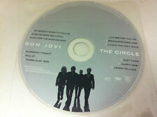 Bon Jovi The Circle Music CD Album 2009 - DISC ONLY in Plastic Sleeve