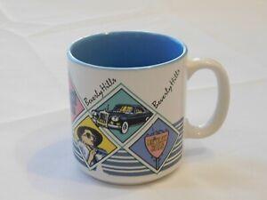 Beverly Hills by Karol Western 1987 Drink Coffee Mug Soup Cup Pre-owned