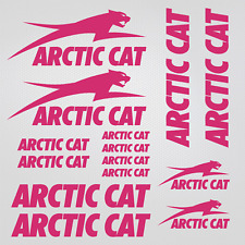For Arctic Cat sticker set replica snowmobile snowboard sled helmet decal racing
