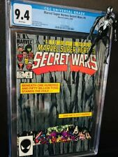 "Secret Wars 4 "" Hulk Holds up The World"" Cover CGC Graded. MCU Future Tie-ins?"
