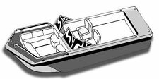 """8oz STYLED TO FIT BOAT COVER TRI HULL RUNABOUT 17'6""""-18'6"""" 90""""B W/S, RAILS I/O"""