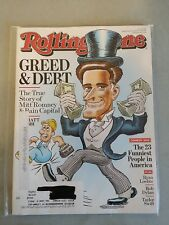 Rolling Stone Magazine September 13, 2012 Mitt Romney - Bob Dylan - Ryan Lochte