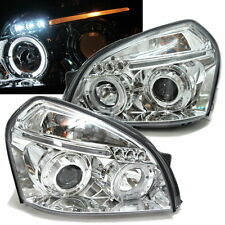 Tucson 2004-2009 04-09 Angel-Eye LED*3 Projector Headlight Chrome for Hyundai