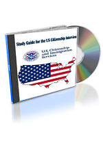 Latest 2017 - 100 Questions Study Guide for the US Citizenship Civic Lesson CD