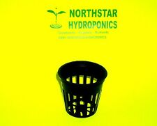 "100  2"" INCH NET CUP POTS HYDROPONIC SYSTEM  GROW KIT"