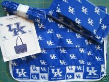UNIVERSITY OF KENTUCKY quilted college handbag project kit OFFICIAL UK LOGO