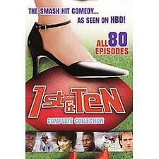 Sealed 1ST AND TEN Complete Collection (DVD SET) first OJ Simpson Shannon Tweed