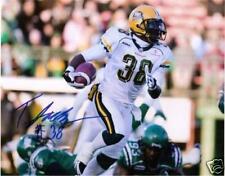 Tristan Jackson CFL Signed Photo Edmonton Eskimos