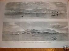 Cuba Havana panoramas from HMS Lapwing 1859