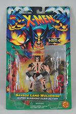 X-Men Flashback Series: SAVAGE LAND WOLVERINE, ToyBiz Marvel 1996, New!