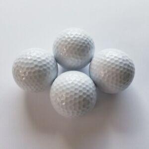 Adventure Golfbälle weiß, Minigolfbälle 4 Stück