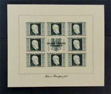 nystamps Austria Stamp # B185 Mint OG NH $500