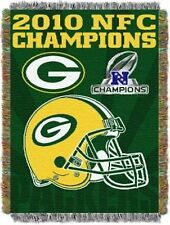 NFL Green Bay Packers NFC Champions 48 Inch by 60 Inch Acrylic Tapestry Throw