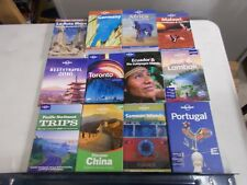 12 LONELY PLANET TRAVEL GUIDES TORONTO BALI ECUADOR PORTUGAL PACIFIC NORTHWEST