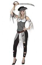 Déguisement Femme Pirate Zombie M/L 40/42 Costume Adulte Corsaire halloween