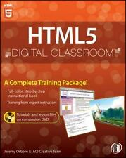HTML5 Digital Classroom, [Book and Video Training] by Osborn, Jeremy , Paperback